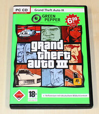 GTA III - GRAND THEFT AUTO 3 - GREEN PEPPER