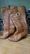 Dune Women Boots size UK 5 leather brown.