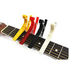 1x For Acoustic/Electric Ukulele Quick Change Guitar Capo Tuner Clamp Tuning