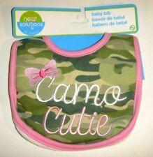 Camo Baby Girl's Bib Infants Cotton Feeding Dribble Towel