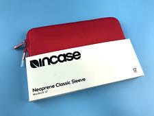 "Incase Red Neoprene Classic Sleeve for MacBook 12"" (CL60664 ) #7988"