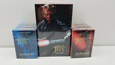 STAR WARS Collectible Card Game Box CCG Young Jedi Darth Maul Naboo 10 BOX LOT