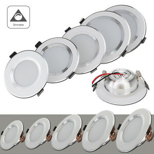 Dimmable LED Recessed Ceiling Light Downlight Bulb Fixture 3W 5W 7W 9W 12W Lamp