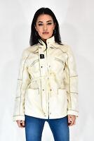 FAY Giubbotto Stile Casual In Poliammide Primaverile Bianco Taglia M Donna Woman