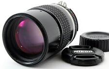 Excellent Nikon Ai-S AiS Nikkor 135mm f/2.8 Telephoto MF Lens w/ Caps FROM JAPAN