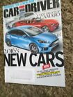 Car And Driver Magazine September 2015 2016's New Cars *FREE SHIPPING*