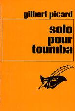 Solo pour toumba // Gilbert PICARD // Le Masque // Thriller