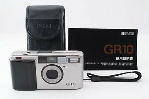 【 EXC+5 】 RICOH GR10  Point & Shoot 35mm Film Camera Silver From Japan #140