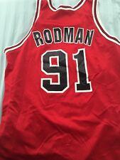 * Chicago Bulls RODMAN Taille 48 Jersey-Dennis Rodman ORIGINAL Vintage *