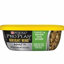 Purina Pro Plan Wet Dog Food, Bright Mind, Adult 7+ Turkey And Brown Rice