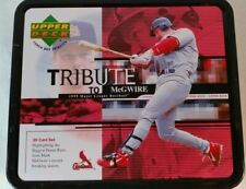 1999 Upper Deck Tribute to Mark McGwire 30 Card Set and Lunchbox - B213