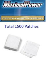 "3-Pach Total 1500 cleaning patches 100% cotton size 2 1/4"" *  2 1/4"" square"