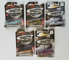Hot Wheels G Machines Lot of 5 New in Packaging 1/50 Scale Diecast Lot #5