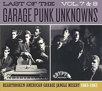 VARIOUS/GARAGE PUNK UNKNOWNS - THE LAST OF..7 & 8   CD NEW