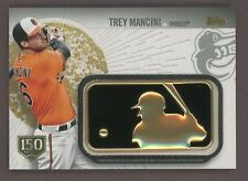 2019 Topps 150 Years Trey Mancini Commemorative MLG Golden Batter Patch /15