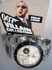 "Swatch: James Bond 007 Irony "" Thunderball "" (SVCK4039G) Emilio Largo New / RAR"