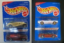 Lot Hot Wheels AVON Father & Son Collector Pack Mustang '65 '96 Mercedes 540K SL