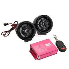 Motorcycle FM Radio Speaker USB MP3 player alarm with remote control R4O6