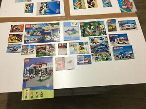 Lego System Classic Anleitungen u.a. 6472 6517 6664 6614 6666 40193 3402 6665