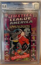 JUSTICE LEAGUE OF AMERICA #47 - CGC 9.4 - JUSTICE SOCIETY OF AMERICA CROSSOVER
