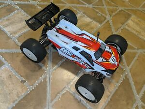 Losi Mini 8ight T RC Truggy Roller with Servo Truck Car TLR HPI Associated Arrma