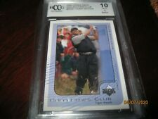 2002 UPPER DECK COLLECTOR'S CLUB #PGA1 TIGER WOODS CARD