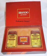 COFANETTO - BRANDO POUR HOMME EDC 100 ml + AFTER SHAVE LOTION 100 ml + SOAP 90 g