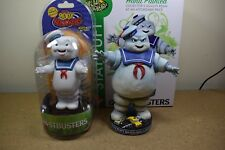 Neca GHOSTBUSTERS STAY PUFT BOBBLE HEAD KNOCKER & BODY KNOCKER BNIB