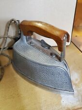 HEAVY Vintage Steem Electric Series  A Steaming Iron PRESSING LAUNDRY DECOR