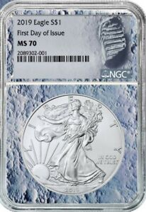 2019 ASE NGC MS-70 FDI MOON CORE