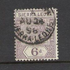Single Victoria (1840-1901) Sierra Leone Stamps (1808-1961)