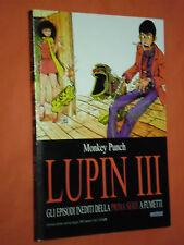 LUPIN III- EPISODI INEDITI  DELLA 1°SERIE-N°9-DI:MONKEY PUNCH-ESAURITO-ORION