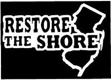 RESTORE THE SHORE Vinyl Decal