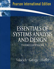Essentials of System Analysis and Design by Valacich, Joseph S., George, Joey,