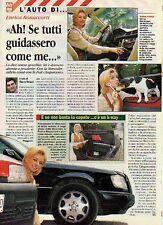 Z93 Ritaglio Clipping 1996 Enrica Bonaccorti Mercedes Benz Classe E Fiat 500