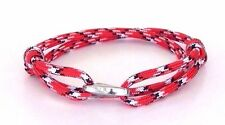 Stylish Bracelet Nautical  Paracord  Fashion Jewelry Adjustable Hand Made USA