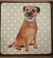 Dog lovers gift Border Terrier Coaster