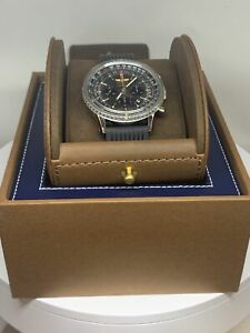BREITLING 46mm NAVITIMER 01 AUTOMATIC CHRONOGRAPH WATCH AB0127 BOX / PAPERS