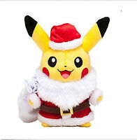"pokemon pikachu Christmas hat 11"" doll stuffed plush toy dolls Great gift"