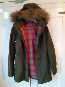 Hollister Girls Parka coat  - Age 12 Rrp £60