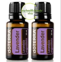 35%OFF doTERRA Lavender 15mlx2 Therapeutic Essential Oil Aromatherapy *FreePost