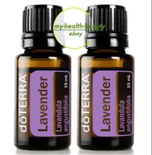 NEW doTERRA Lavender 15mlx2 Therapeutic Grade Pure Essential Oil Aromatherapy