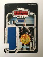 Star Wars Vintage Dengar Original Card Back ESB 41 Back 1980 Kenner