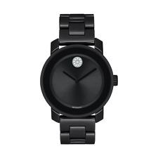 Movado 3600535 Bold 36mm Women's Crystal Black Ceramic Watch