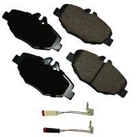 Disc Brake Pad Set-Base Front Akebono EUR987