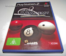 Cue Academy PS2 PAL *Complete* Pool Snooker