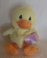 Enesco Precious Moments Tender Tails Yellow Duck Nwt