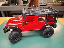 RCDM Roll Cage / Roof Rack For The Pro-Line Jeep Wrangler Body 3336-00 / SCX10