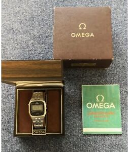 Omega Speedmaster LCD Ref 1620 NOS Box Papers