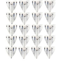 Ludwig Classic Bass Drum Claw Hooks 20 Pack Bundle